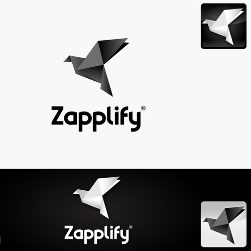 Zapplify - new DIY mobile app building site needs a origami-inspired logo!