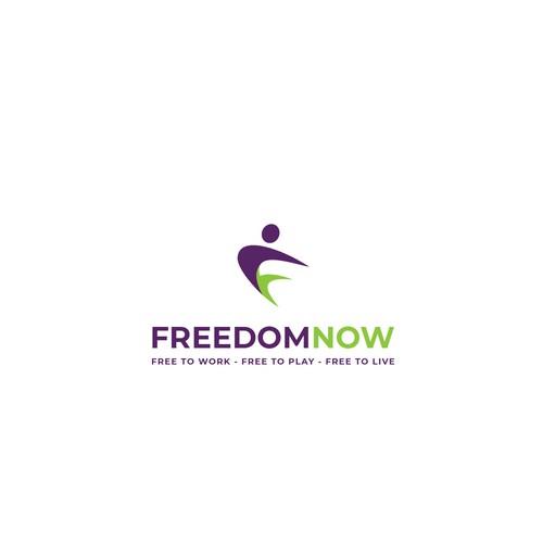 Freedom Now Logo Design (Medical Clinic)