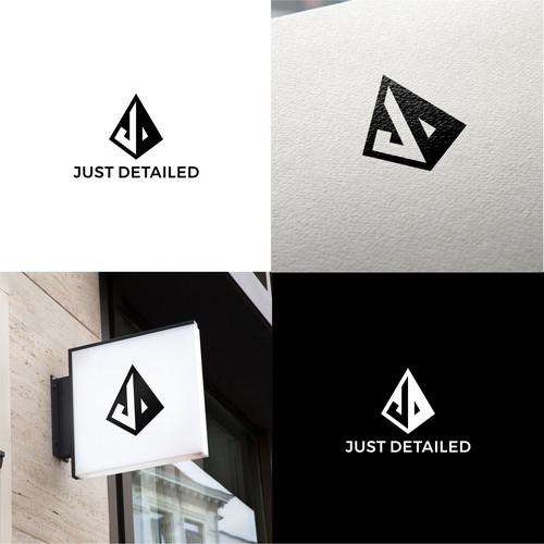 Letter J + D Logo