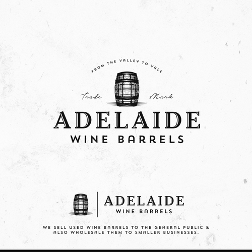 Logo design for Adelaide Wine Barrels