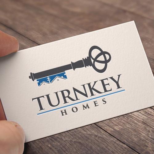 Logo for Turnkey Homes Real Estate