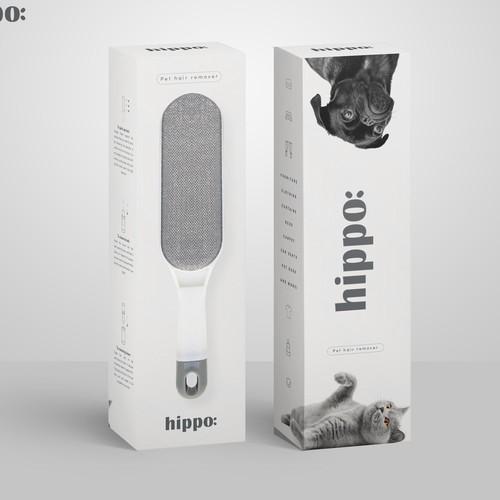 Hippo Packaging Design