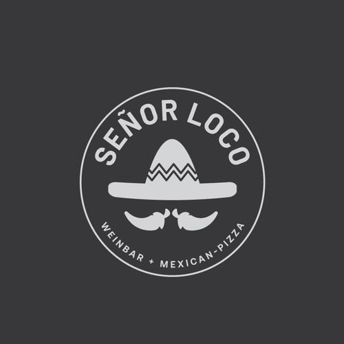 Mexican restaurant and bar logo