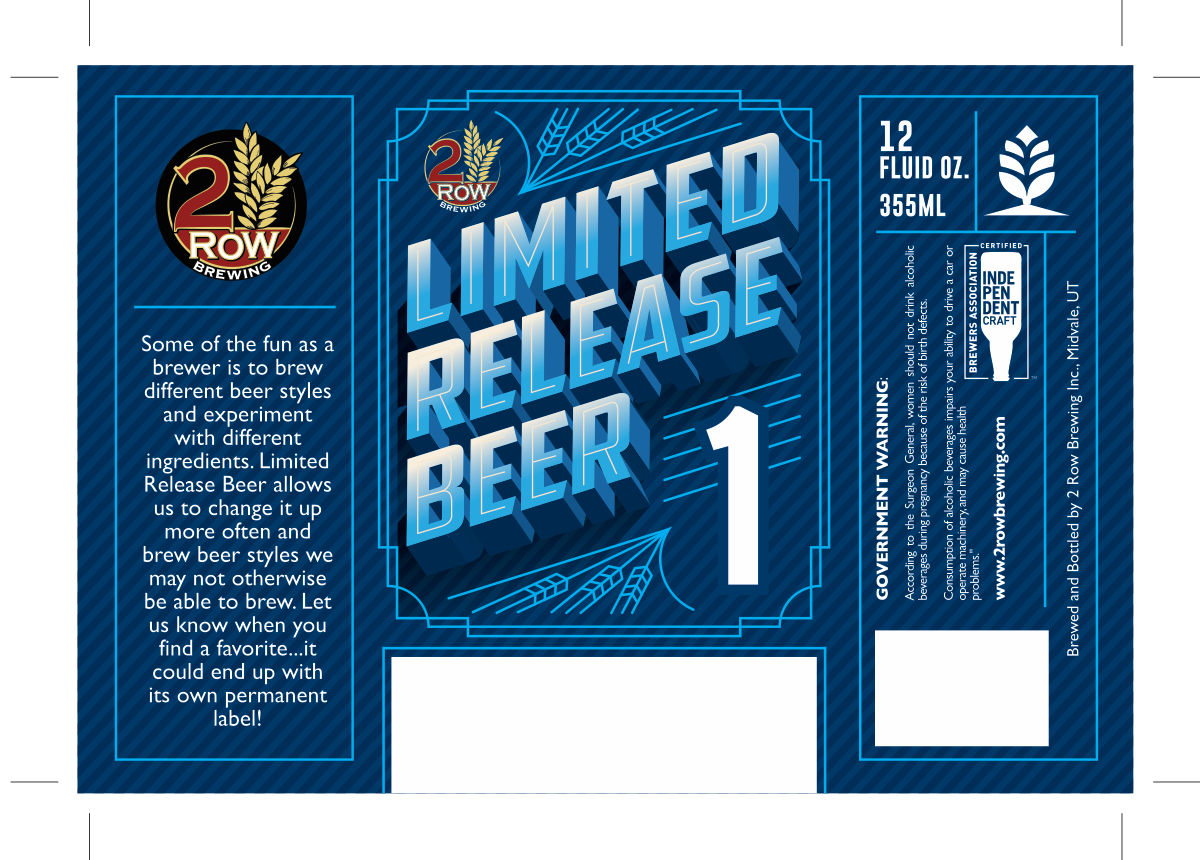 Limited Release Beer 1-4