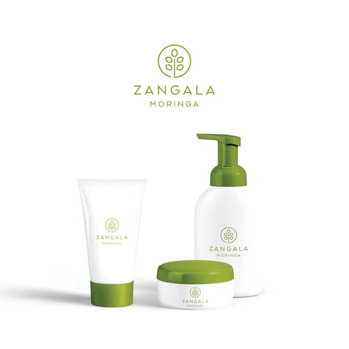logo design for zangala moringa