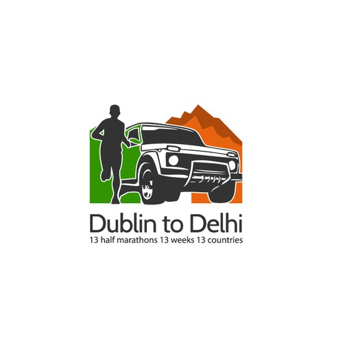 running from Dublin to Delhi 2015