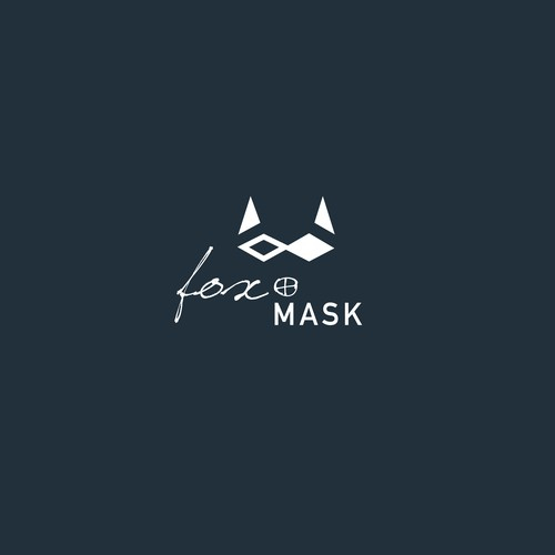 Fox and Mask Logo