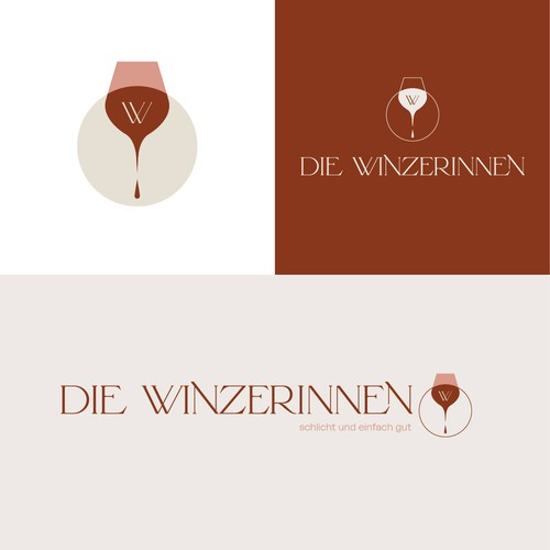 logodesign for a wine shop