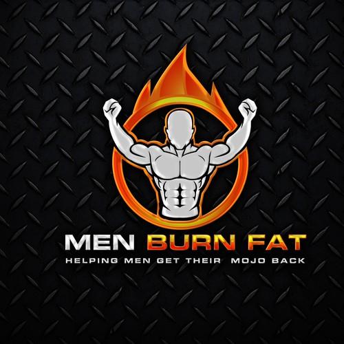 MEN BURN FAT LOGO