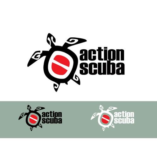 Action Scuba Fresh Brand Logo