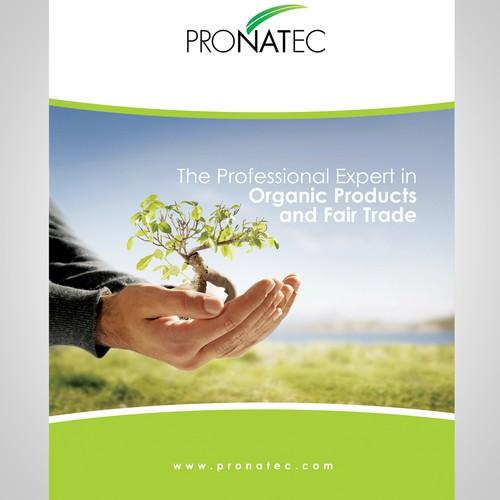 Modernes, edles Redesign für unserer Broschüre Pronatec / modern, elegant redesign of our brochure