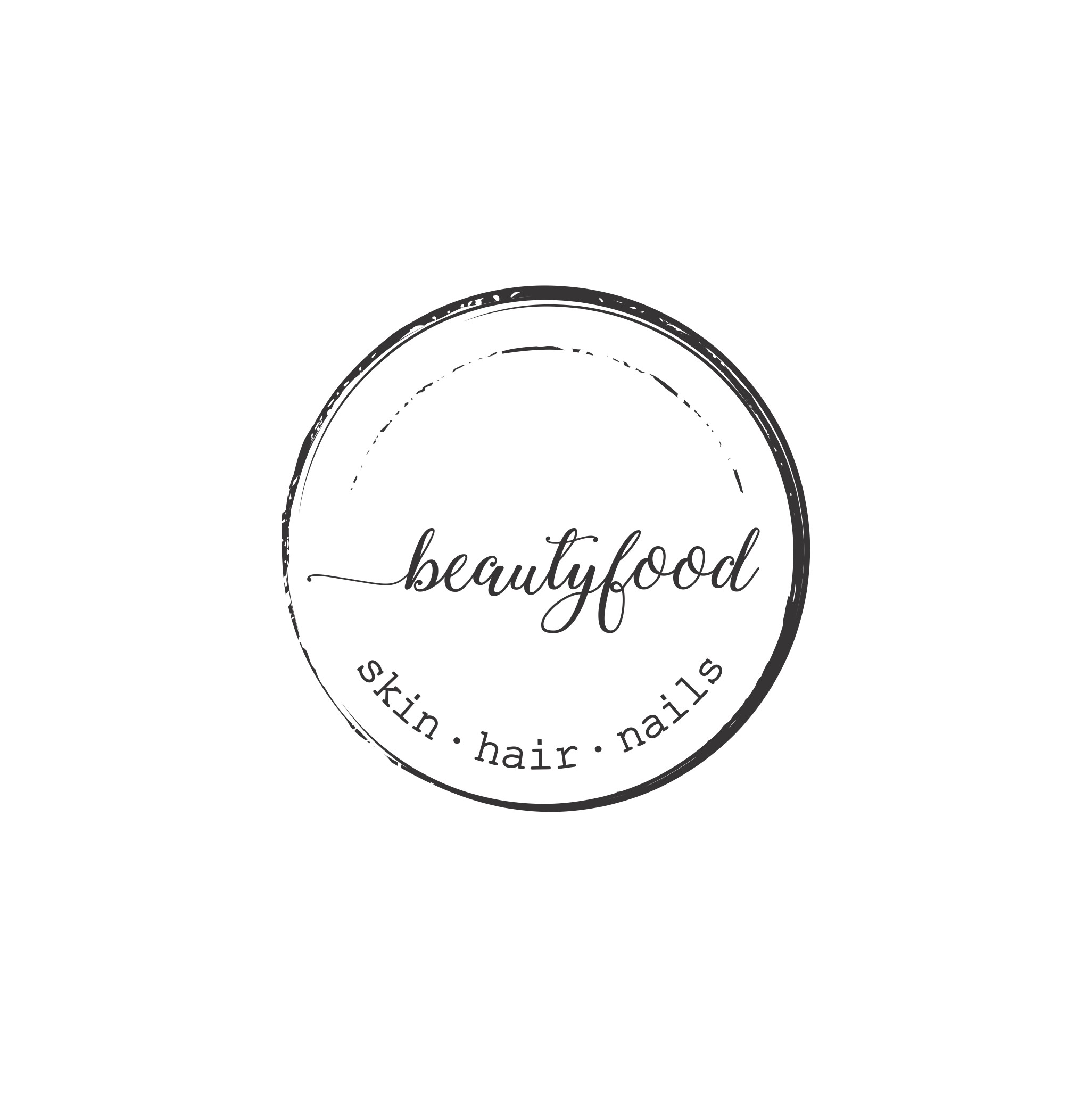 Original stamp logo wanted for a cosmetics brand inspired by food