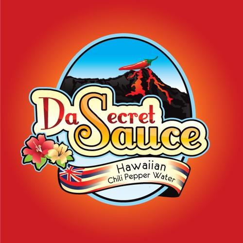 """Aloha, New Logo Wanted for """"Da Secret Sauce"""""""