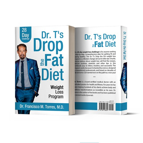 "Book Cover ""Dr.T's Drop The Fat Diet"""