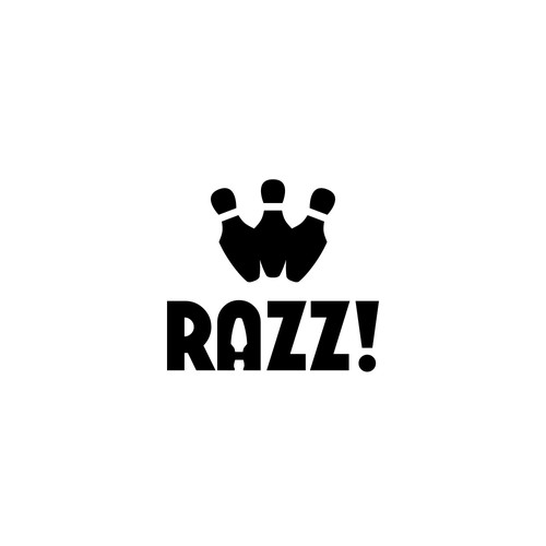 Simple and Clean logo design concept for Razz!