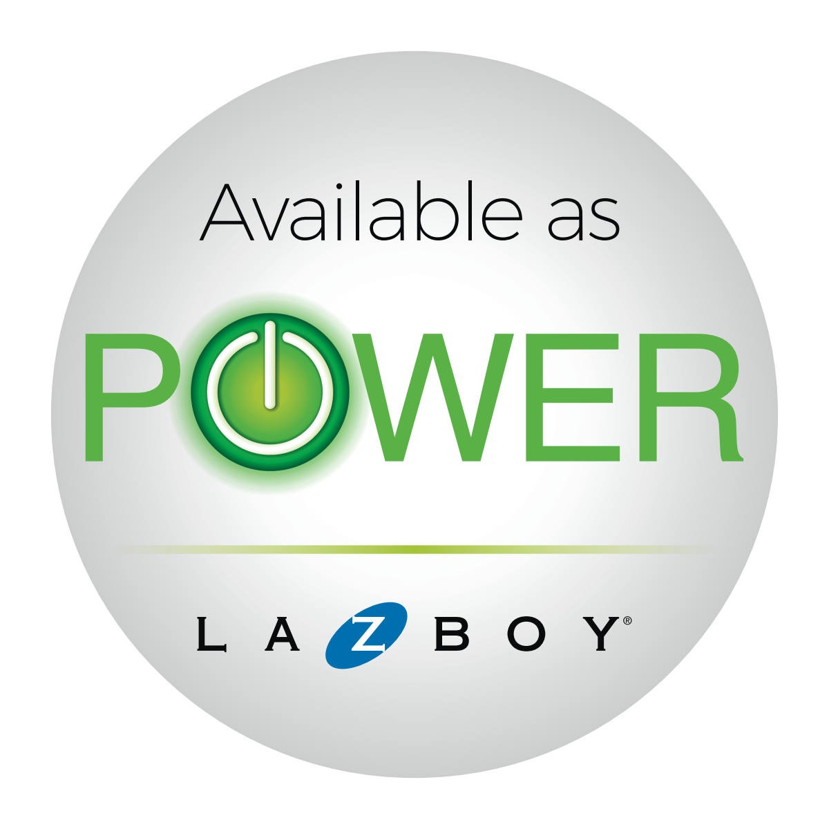 Sticker for a furnitre company (La-Z-Boy)