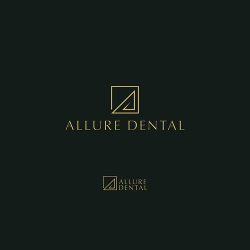 Allure Dental Logo Concept