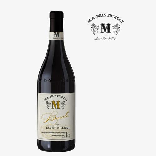 Barolo Wine Label