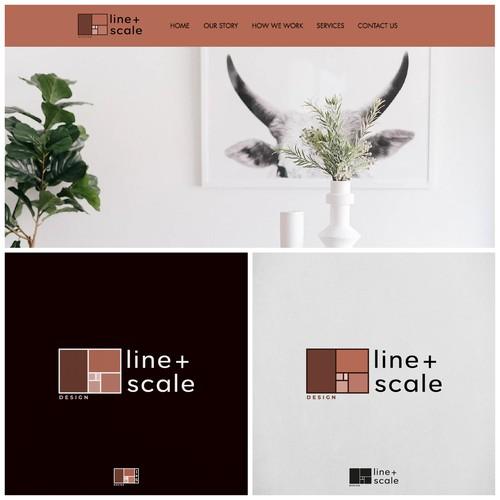 Logo line+scale design