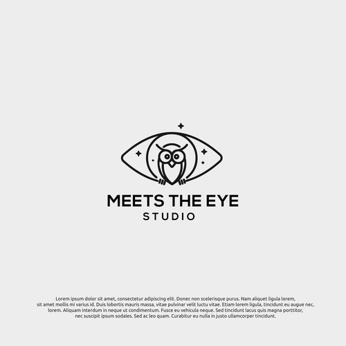 logo concept for the meets the eye