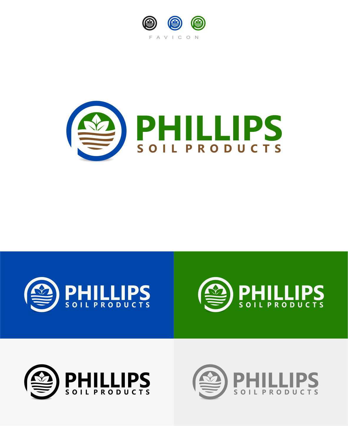 Logo design for top quality potting soil company working in an exploding market place.