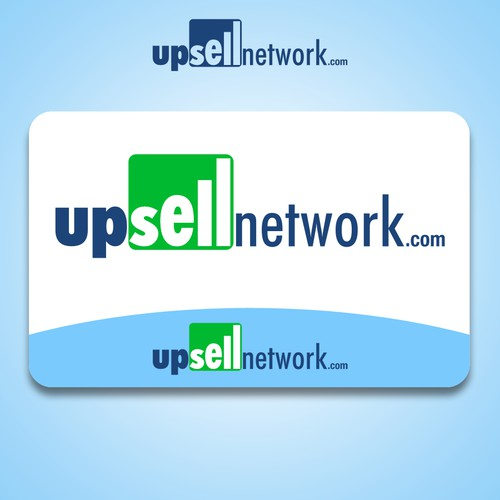 Upsell Network: Branding for affiliate-based e-commerce website