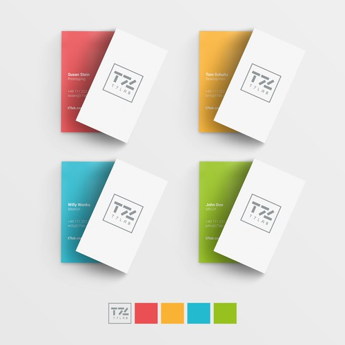 Logo concept for T7 Lab