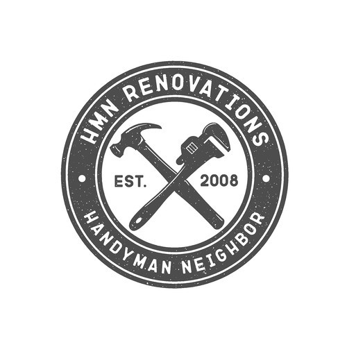 Logo concept for HMN RENOVATIONS