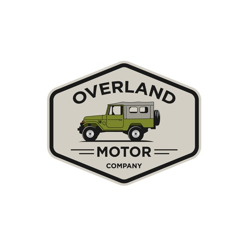 Car import specialize in Toyota FJ43 need a new logo
