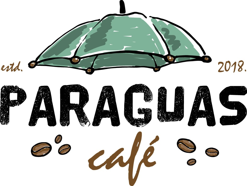 Design an industrial-vintage logo for a hometown café