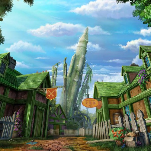 Rocket Town - Final Fantasy 7