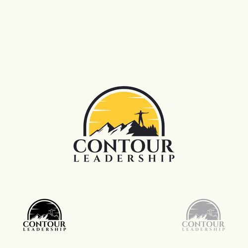 Bold logo for Contour Leadership