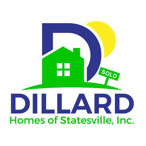"A Logo for house flipping company ""DILLARD Homes of Statesville Inc."