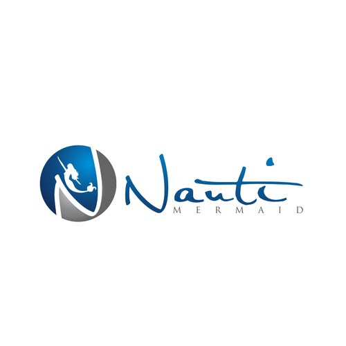 Logo design for Nauti Mermaid Charters