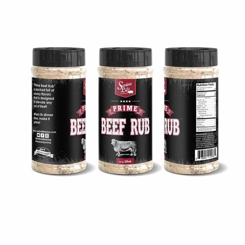 Rustic Label Beef Rub