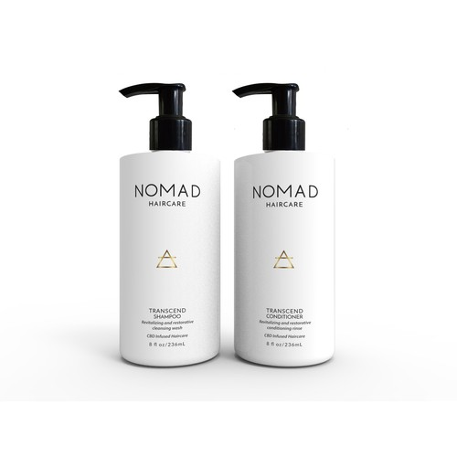 design shampoo & conditioner bottles