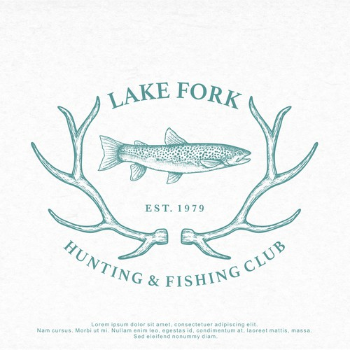 Logo Design for Lake Fork