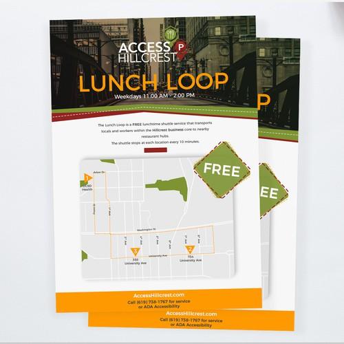 Postcard/flyer design