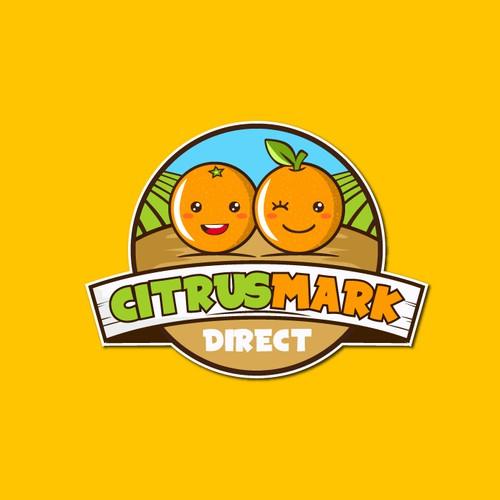 "Logo concept for ""Citrusmark direct"""