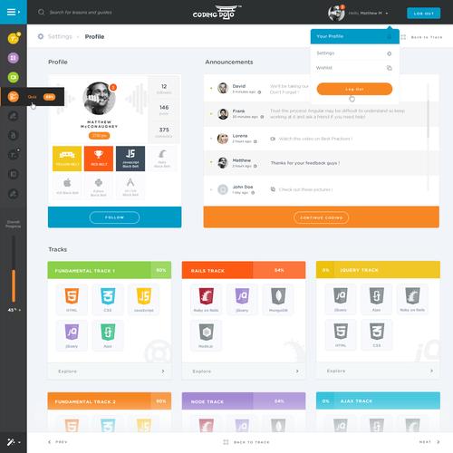 New Learning Platform for Coding Dojo