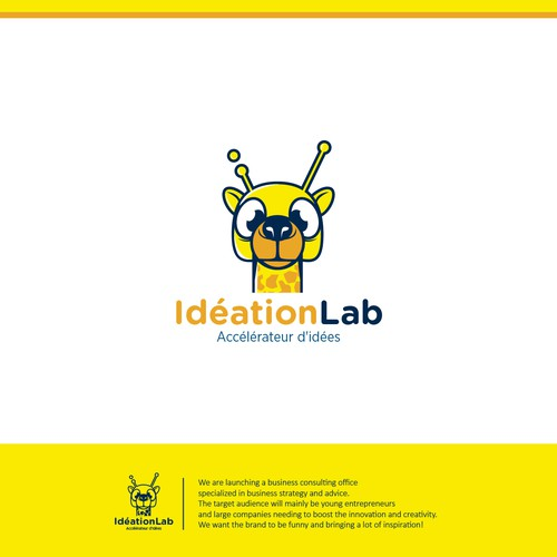 logo concepts for ideation lab