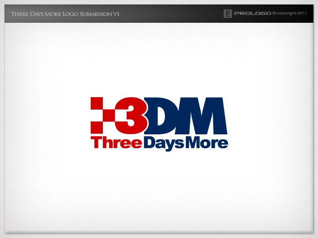 logo for Three Days More