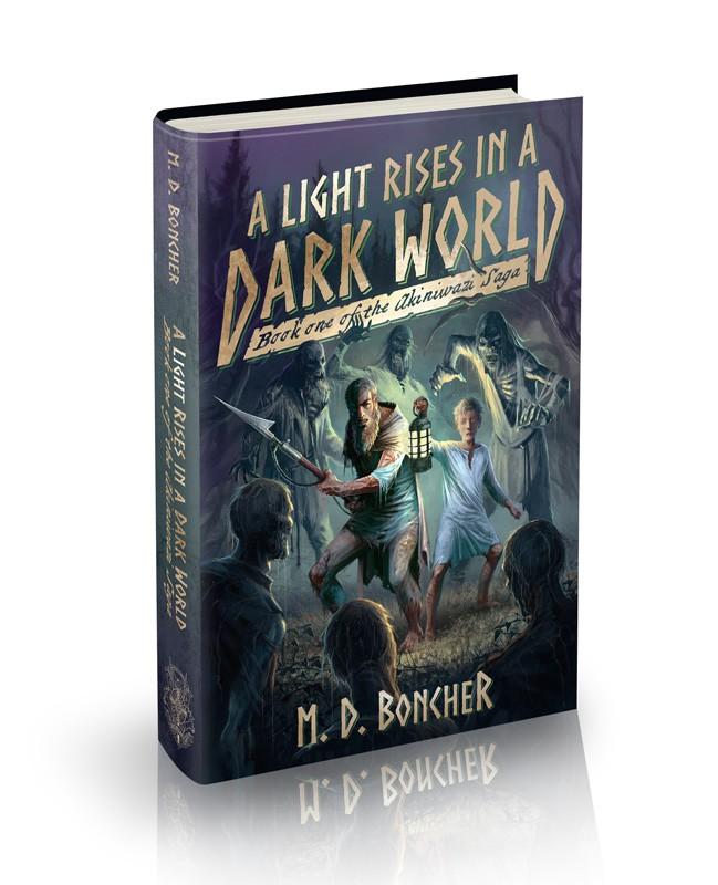 Epic Christian Fantasy Adventure Novel Cover