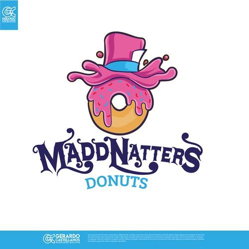 Madd Natters Donuts Logo