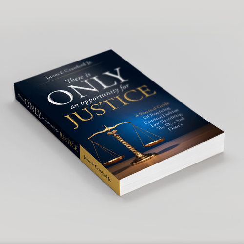 Book cover concept for a lawyer