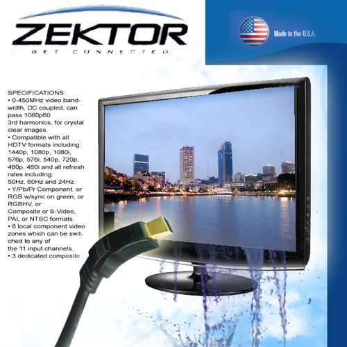 Create the next print design for Zektor Incorportated