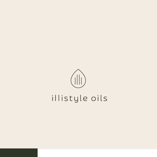clean+modern logo for essential oils