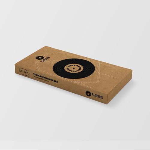Packaging for Vinyl Record Rack
