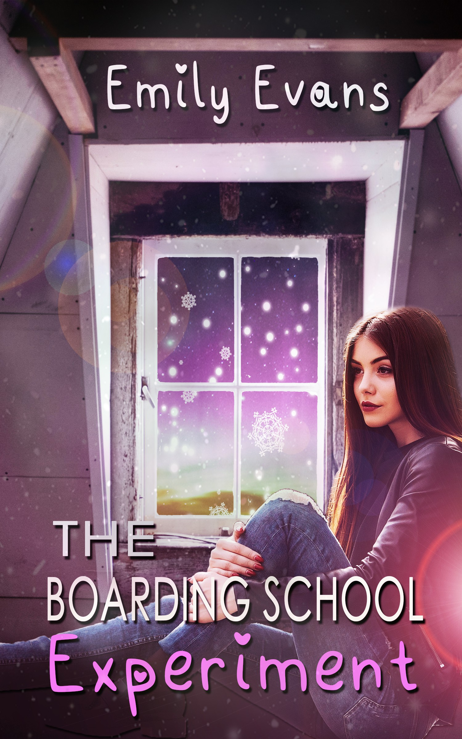 Young Adult Romance Cover The Boarding School Experiment