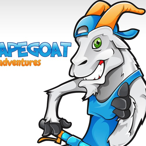 New Mountain Biking Goat logo for Escapegoat Adventures needed!